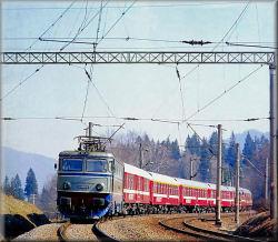 Tren asemanator cu cel pe care il frecventez