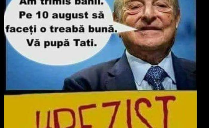 Ce se postează în grupurile pro-PSD despre protestul din 10August